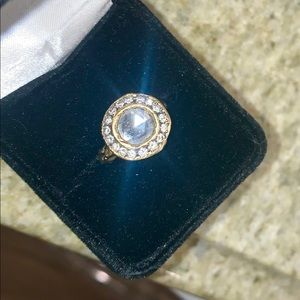 TAP by Todd Pownell Diamond and 18k Gold Ring
